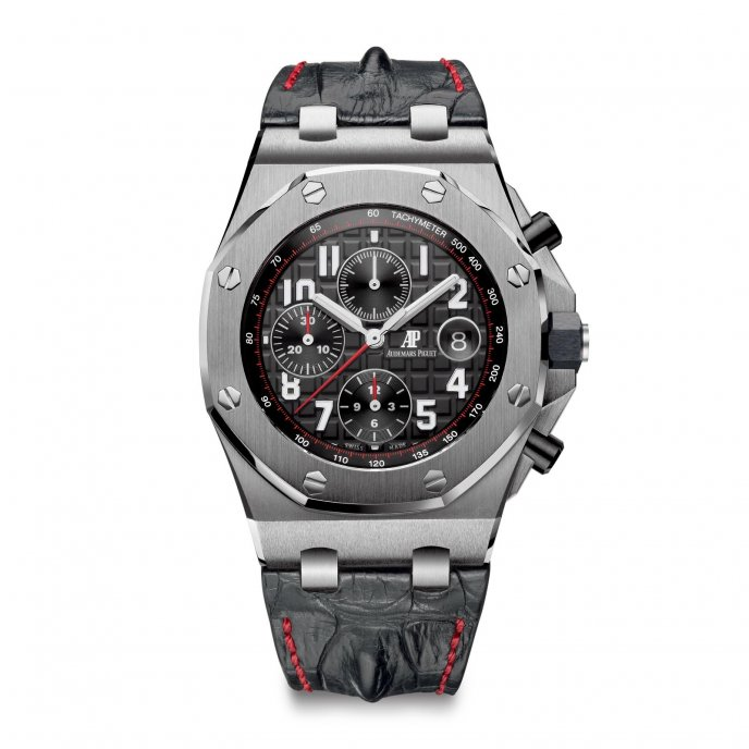Audemars Piguet Royal Oak Offshore Chronograph 26470ST.OO.A101CR.01 - watch face view