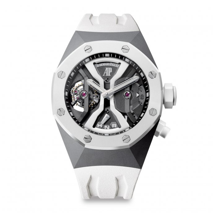 Audemars Piguet Tourbillon Royal Oak Concept GMT 26580IO.OO.D010CA.01 - face view