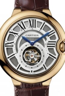 Montre Ballon bleu Tourbillon