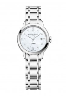 Classima 27mm Diamond-Set Mother-Of-Pearl Automatic