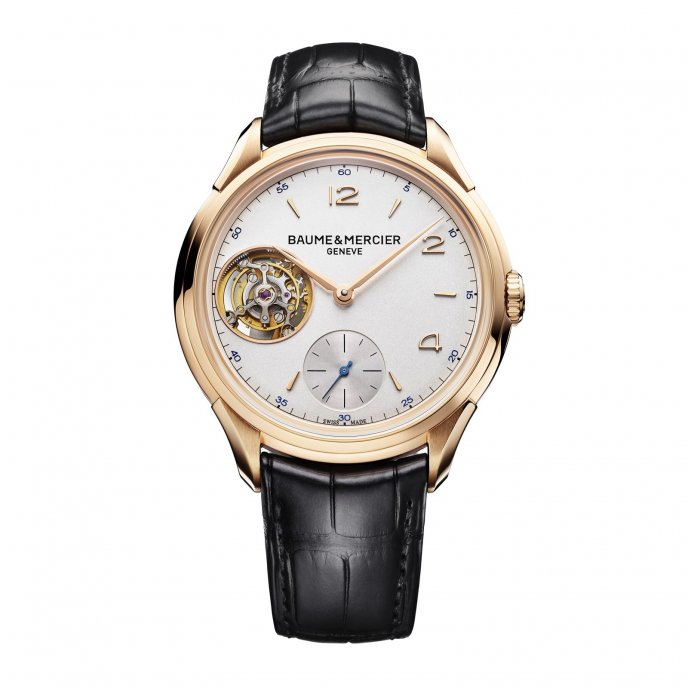 Baume & Mercier Clifton 1892 Tourbillon Volant M0A10143 - face view