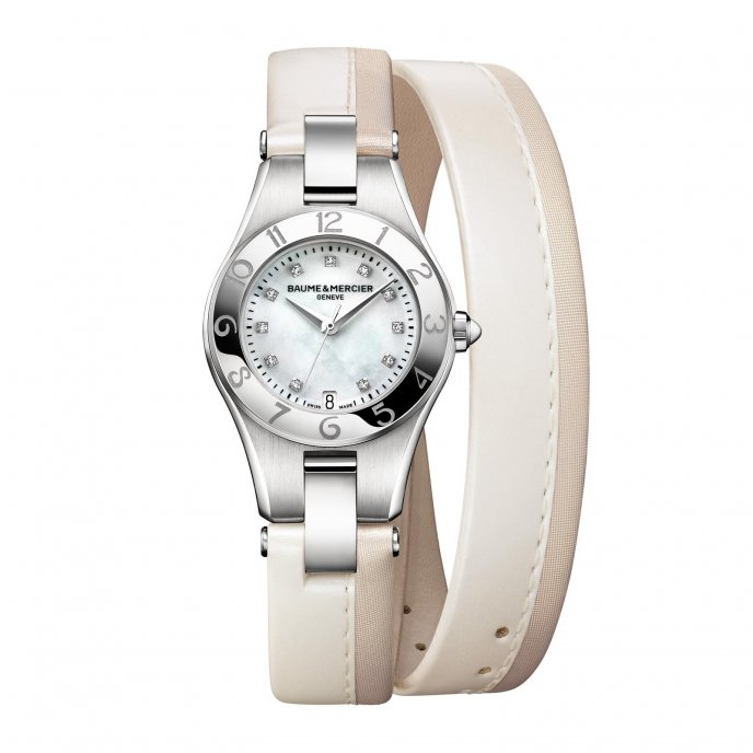 Baume Et Mercier Linea Blanc Watch-face-view