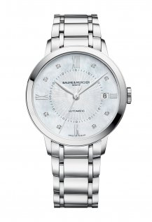 Women Automatic Steel Diamond-Set Dial