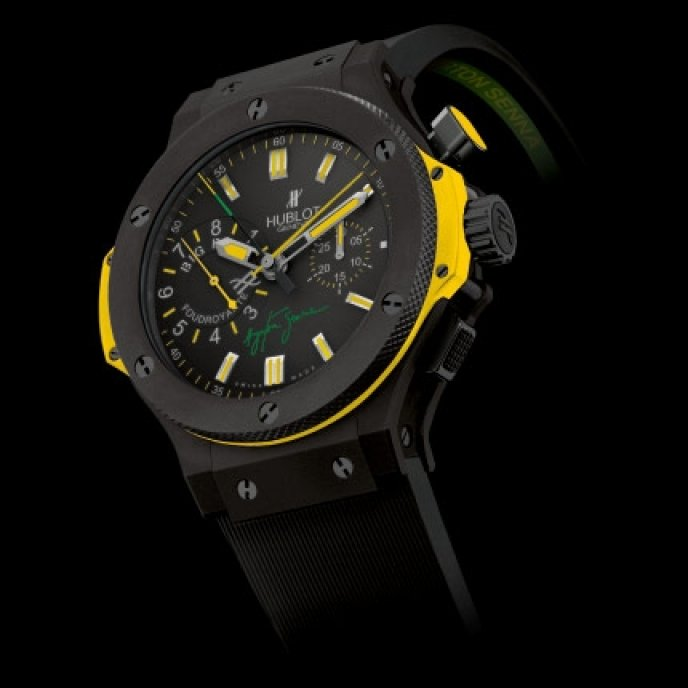 Hublot - Big Bang Senna Foudroyante