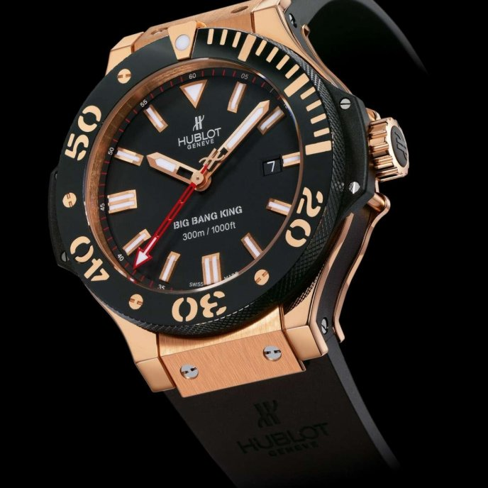 Hublot - Gold Ceramic King