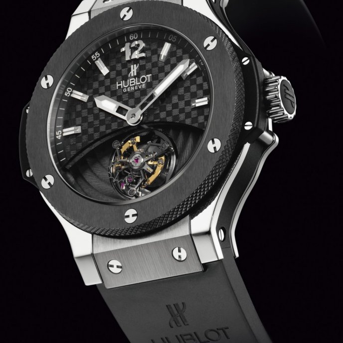 Hublot - Solo Bang Platinum