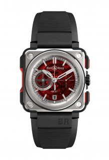 BR-X1-Skeleton Chronograph-Red Edition
