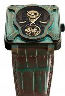 Skull Bronze Tourbillon