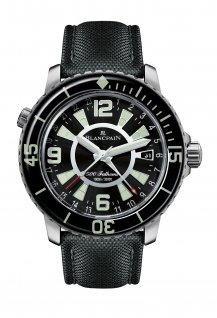 500 Fathoms GMT Double timezone