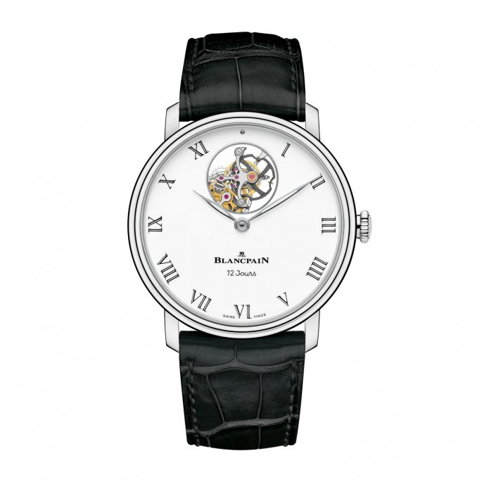 Blancpain Villeret Tourbillon Watch-face-view