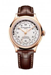 Capeland Worldtimer Or Rouge 18k