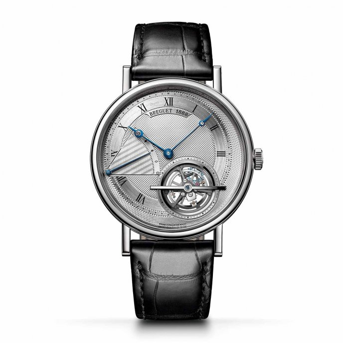 Breguet Classique Grandes Complications Tourbillon extra-plat Automatique 5377PT/12/9WU watch face view