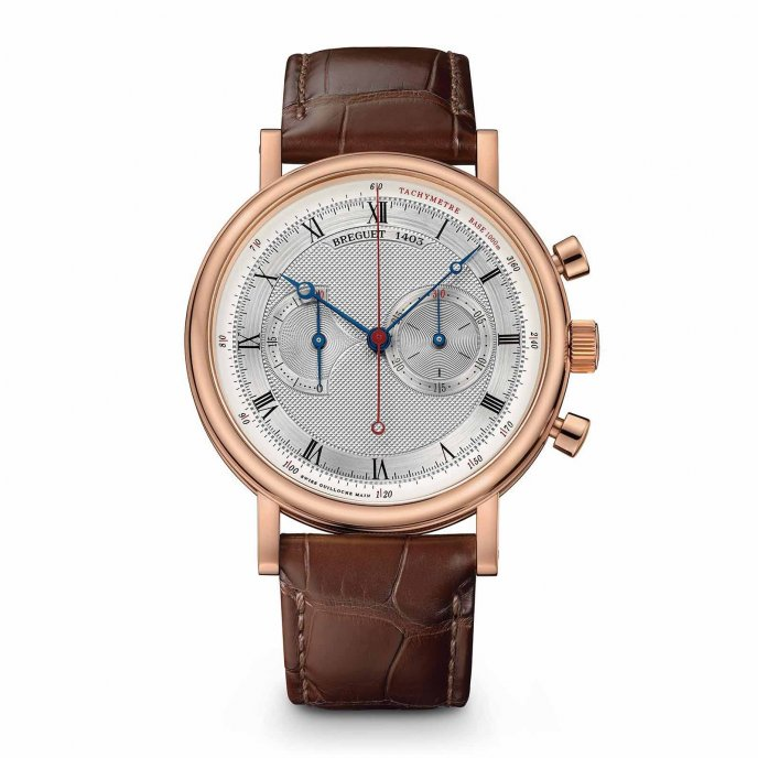 Breguet Classique Chronograph 5287 5287BR/12/9ZU - watch face view