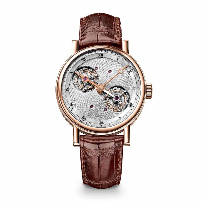 Breguet Classique Grande Complication Double Tourbillon 5347BR/11/9ZU watch face view