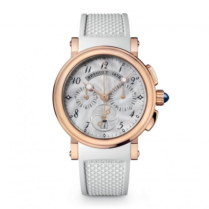 Breguet - Marine Ladies Chronograph - 8827BR/52/586 - watch face view