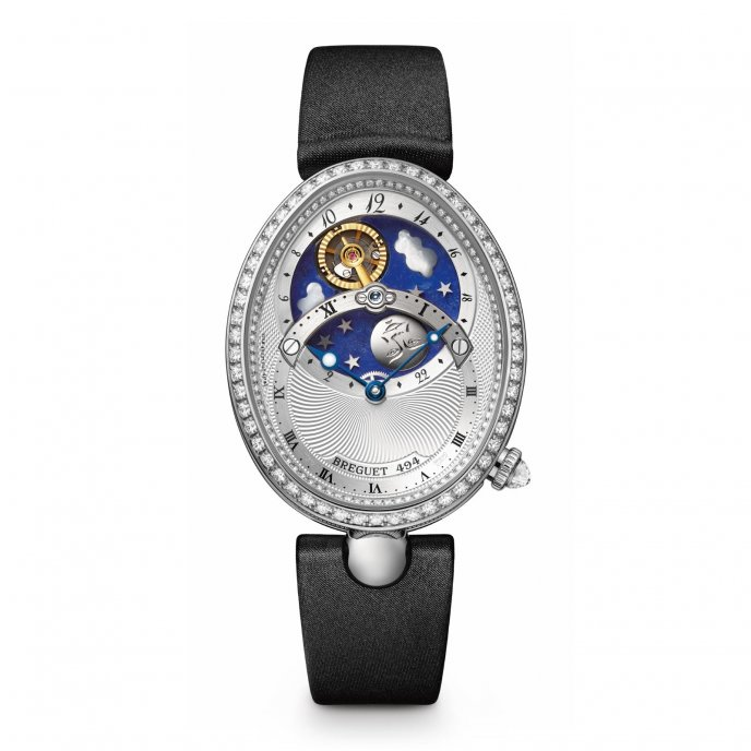 Breguet - Reine de Naples - 8998BB11874 D00D - watch face view