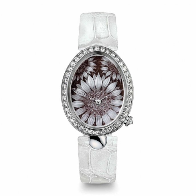 Breguet Reine de Naples Cammea 8958BB/51/974 D00D watch face view