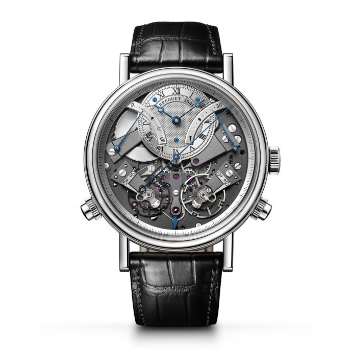 Breguet Tradition Chronographe Indépendant 7077 7077BB /G1 /9XV - watch face view