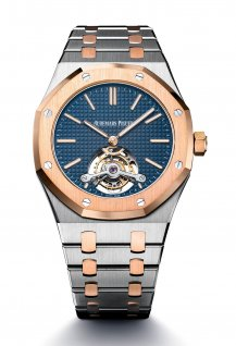 Royal Oak Tourbillon Extra-Plat - Blue Edition