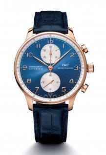 Portugieser Chronographe - Blue Edition