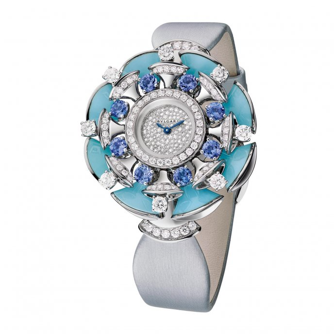 Bulgari Diva Joaillerie 102421 watch face view