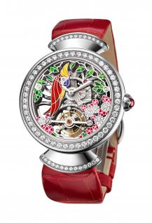 Divas' Dream Tourbillon Skeleton