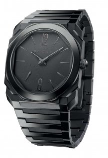 Octo Finissimo Automatic Black Sandblast-Polished Ceramic