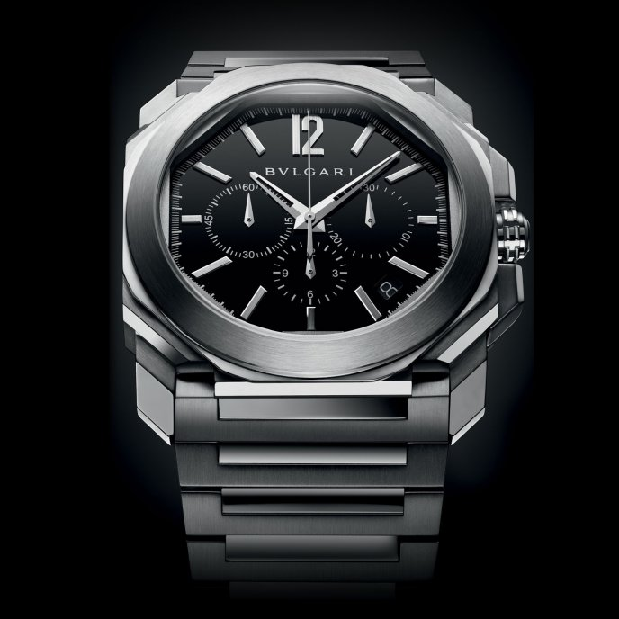 Bulgari Octo Velocissimo BGO41BSSDCH - watch face view