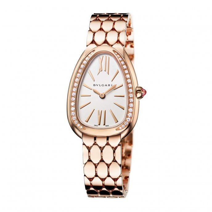 Serpenti Seduttori  Pink Gold and Diamonds