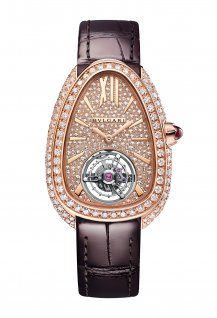 Serpenti Seduttori Tourbillon Rose Gold