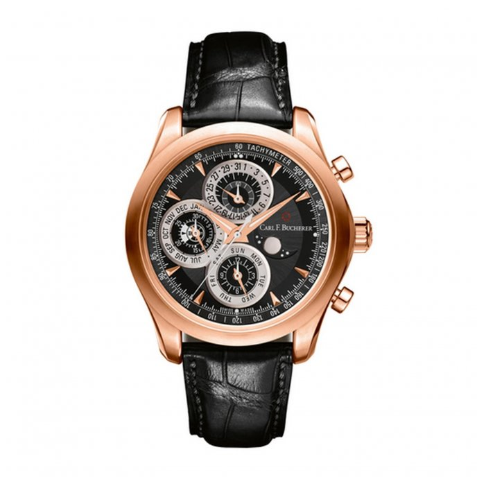 Carl F Bucherer Manero ChronoPerpetual 00.10906.03.33.01 Watch-face-view