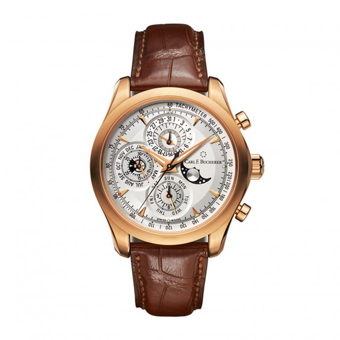 Carl F Bucherer Manero ChronoPerpetual Watch-face-view