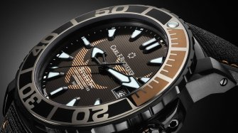 Patravi ScubaTec Black Manta Special Edition Watches