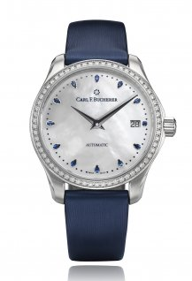 Manero AutoDate Bucherer Blue