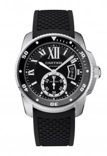 Calibre de Cartier Diver watch in steel