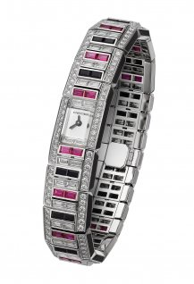 Saturday High Jewellery wristwatch