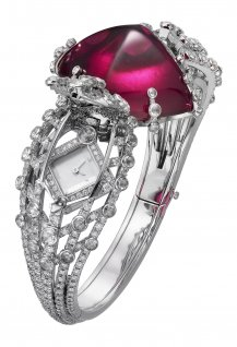 Désert Rose High Jewellery secret watch