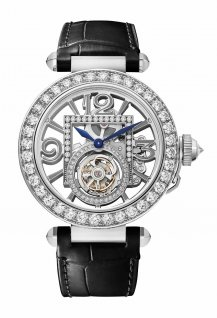 Pasha, tourbillon squelette 41mm