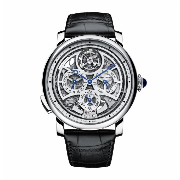 Cartier Rotonde Grande Complication Calibre 9406 MC Watch Front View