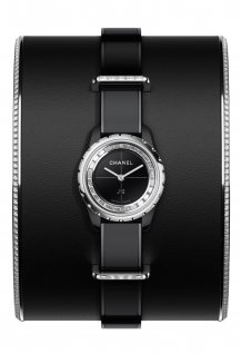 J12XS Watch Black High Jewelry Small Cuff