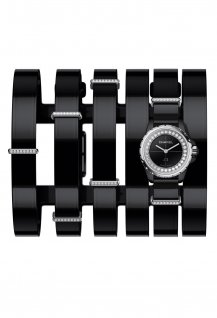 J12XS Watch Black Large Cuff