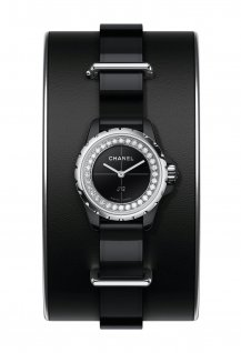 J12XS Watch Black Small Cuff
