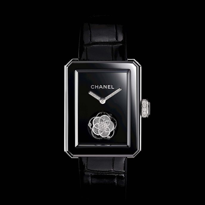 Chanel Première Flying Tourbillon Only Watch 2013 - face view