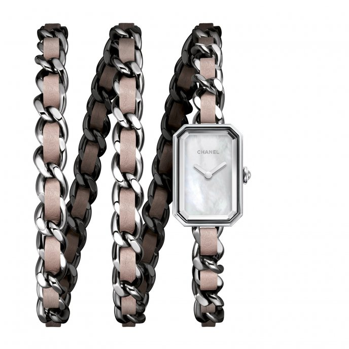 Chanel Première Rock Rose - watch face view