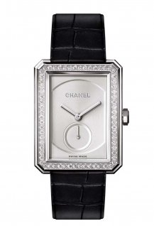 White gold large model with diamonds