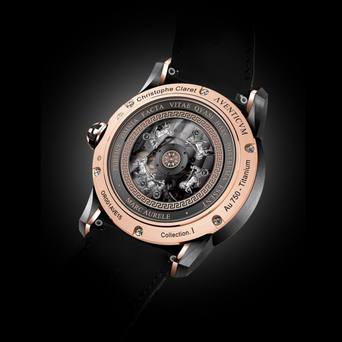 Christophe Claret Traditional Complications Watches Aventicum Watch Back View