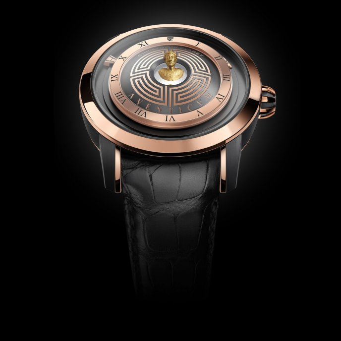 Christophe Claret Traditional Complications Watches Aventicum Watch Face View