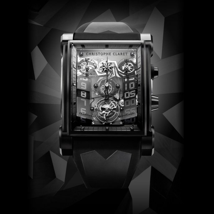 Christophe Claret DualTow NightEagle MTR.CC20A.045 - watch face view