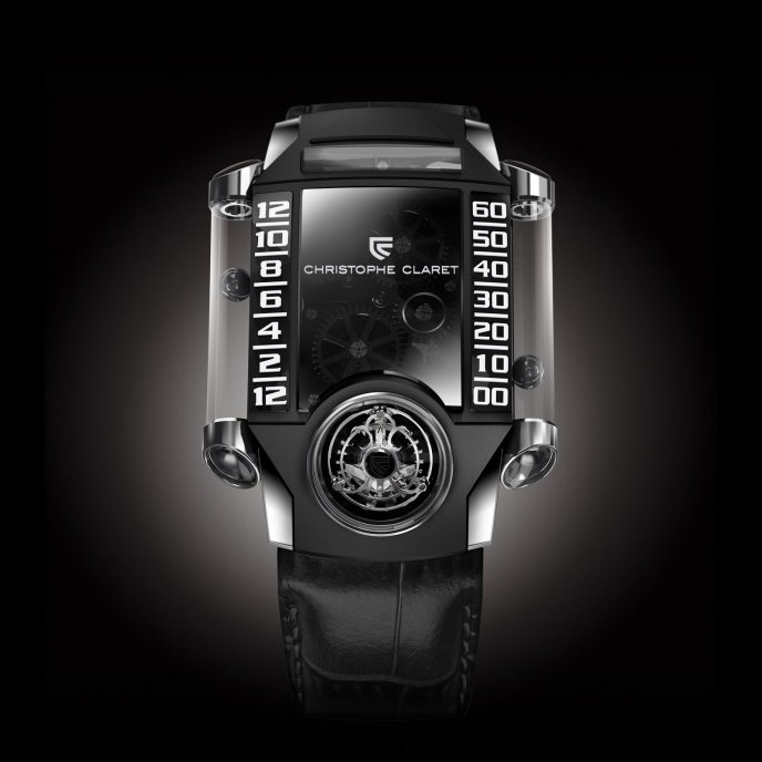 Christophe Claret Montres à Complications Extrêmes X-TREM-1 MTR.FLY11.030-038 - watch face view