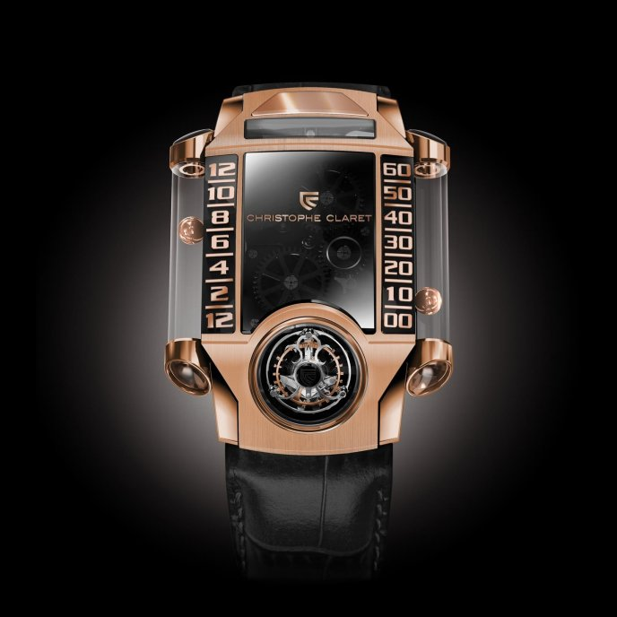 Christophe Claret Montres à Complications Extrêmes X-TREM-1 MTR.FLY11.070-078 - watch face view